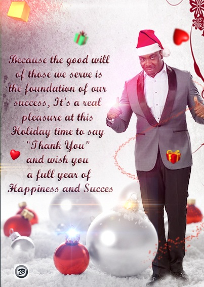 Season's Greetings from Don Jazzy