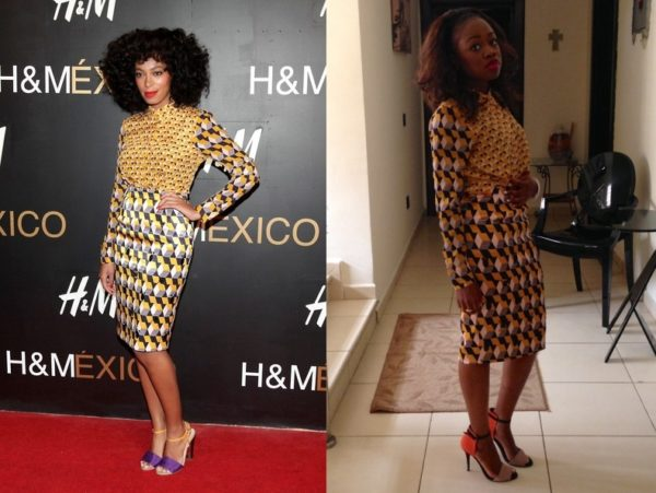 Solange Knowles & Kike in H&M