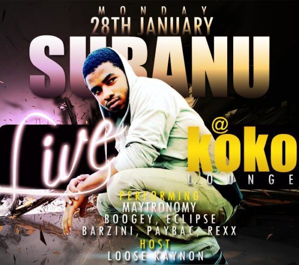 Suranu Live at Koko Lounge