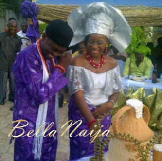 Tinsel Real Life Wedding Ene Chuks BellaNaija