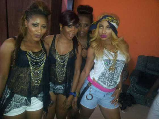 Tonto Dikeh Itz Ova Video Shoot - January 2013 - BellaNaija005