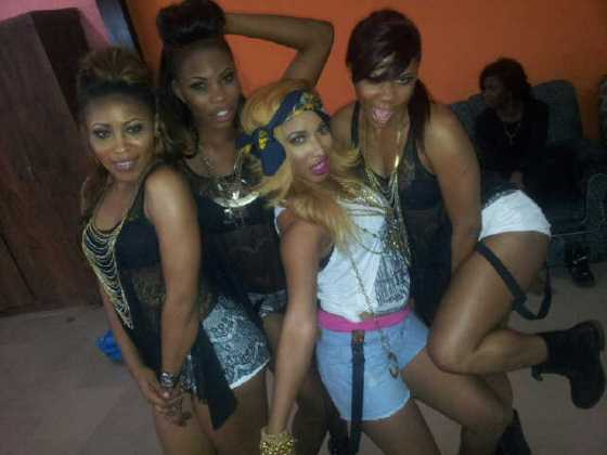 Tonto Dikeh Itz Ova Video Shoot - January 2013 - BellaNaija006