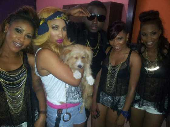 Tonto Dikeh Itz Ova Video Shoot - January 2013 - BellaNaija008