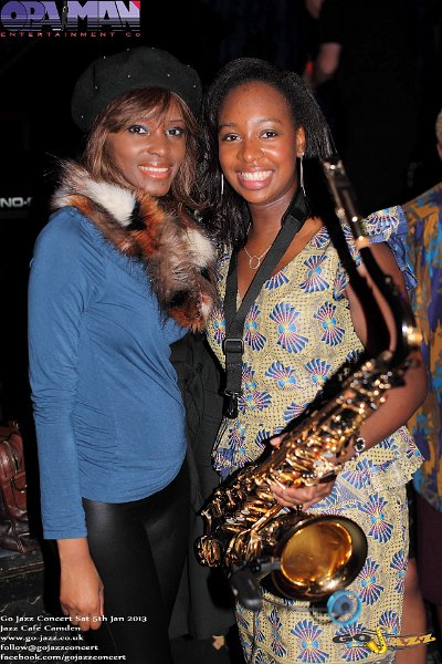 YolanDa Brown and a guest