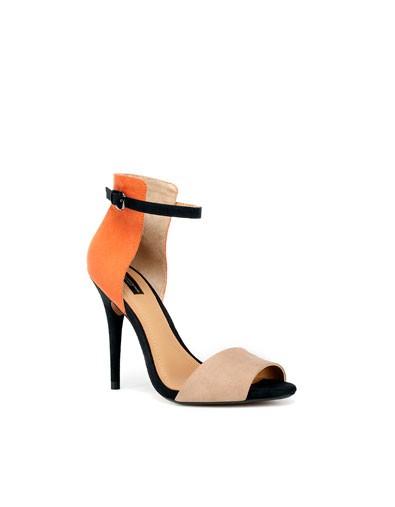Zara Heels worn by Kike Soyode