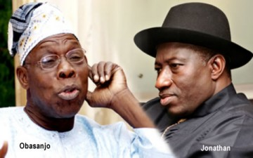Image result for OBASANJO AND JONATHAN