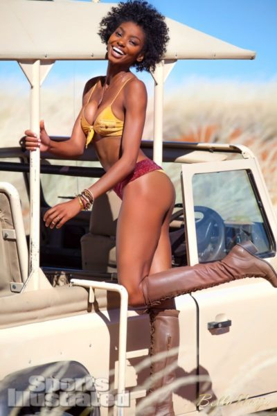 Adaora Akubilo Sports Illustrated Suimsuit Issue 2013 Namibia - February 2013 - BellaNaija003