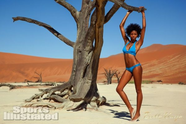 Adaora Akubilo Sports Illustrated Suimsuit Issue 2013 Namibia - February 2013 - BellaNaija022