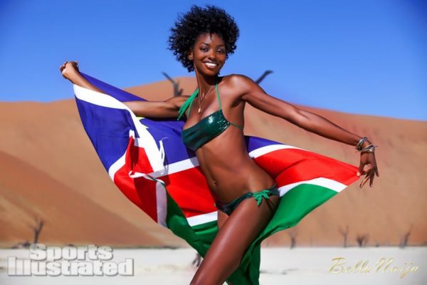 Adaora Akubilo Sports Illustrated Suimsuit Issue 2013 Namibia - February 2013 - BellaNaija024