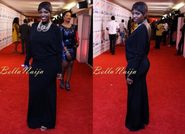 Annie Idibia in Vonne Couture