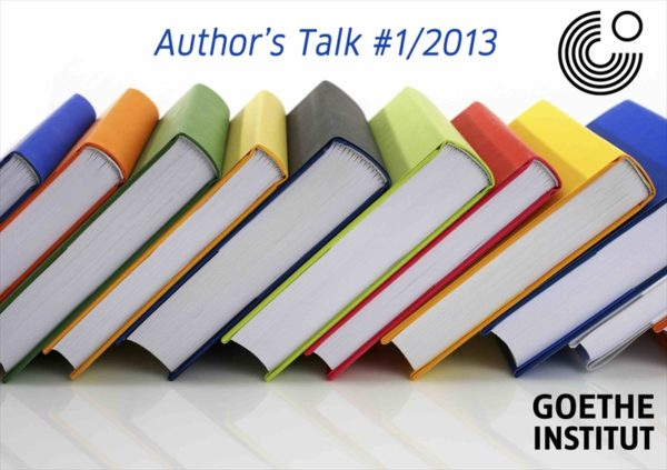 Author's Talk Goethe Institut