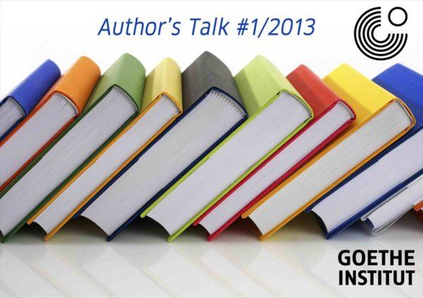 Author's Talk Goethe Institut
