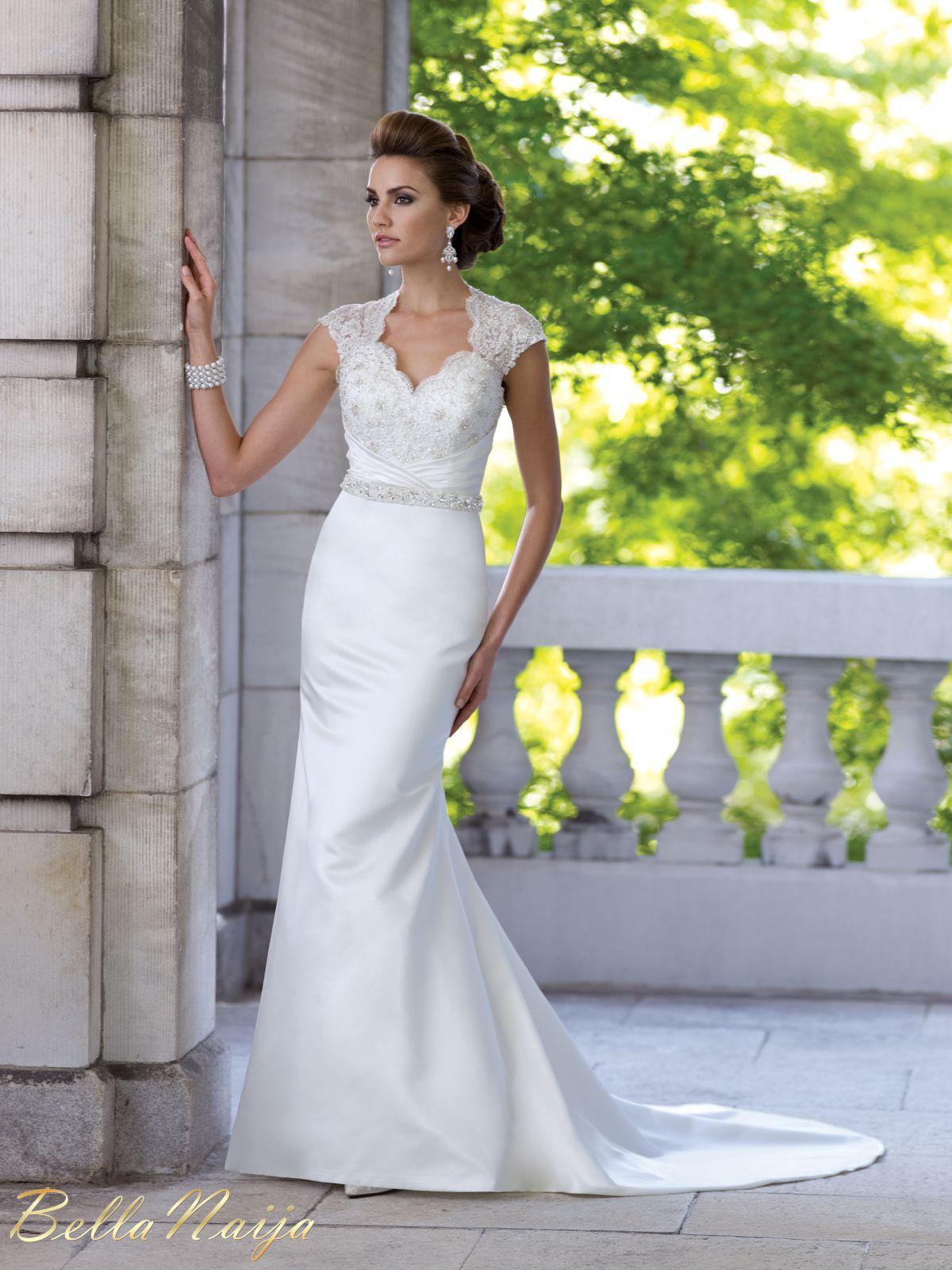 Bn bridal david tutera for mon cheri spring 2013 for How much are mon cheri wedding dresses