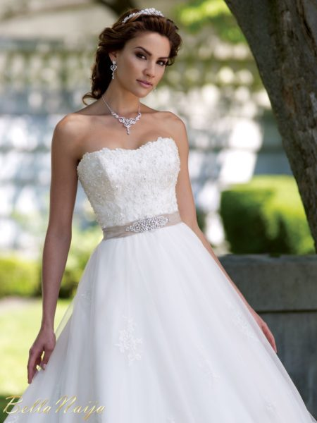 BN Bridal - David Tutera for Mon Cheri Spring 2013 - February 2013 - BellaNaija013