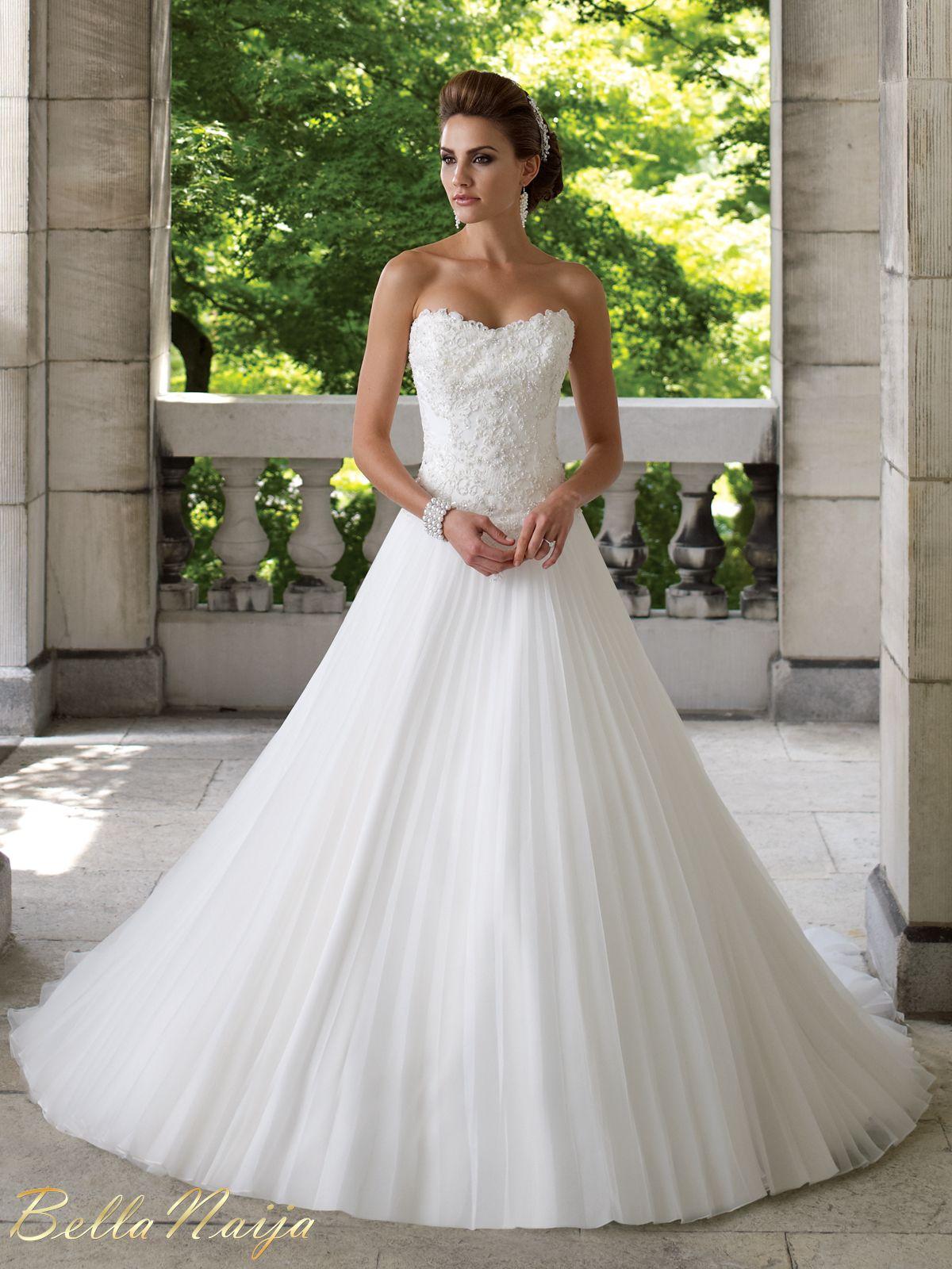 Bn Bridal David Tutera For Mon Cheri Spring 2013 Collection