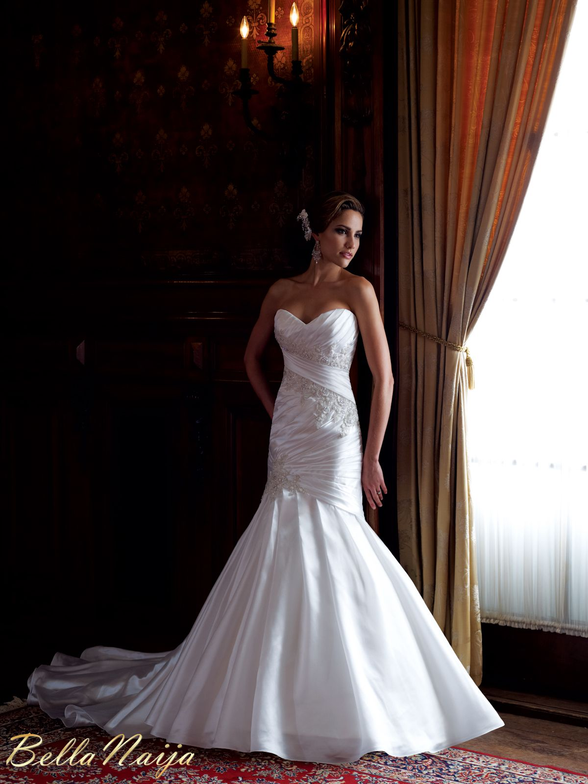 Bn bridal david tutera for mon cheri spring 2013 collection for How much are mon cheri wedding dresses