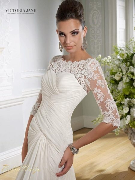 BN Bridal - Victoria Jane for Ronald Joyce 2013 Collection - February 2013 - BellaNaija017