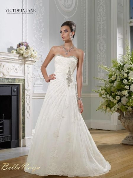 BN Bridal - Victoria Jane for Ronald Joyce 2013 Collection - February 2013 - BellaNaija034