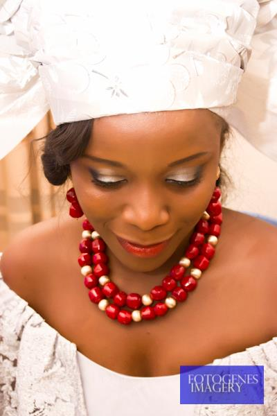 "BN Celebrity Weddings - Sneak Peek_ Florence Uwaleke & Iyke Okechukwu (Tinsel's ""Ene"" and ""Chuks"") Traditional Wedding - February 2013 - BellaNaija001"