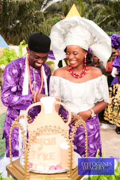 "BN Celebrity Weddings - Sneak Peek_ Florence Uwaleke & Iyke Okechukwu (Tinsel's ""Ene"" and ""Chuks"") Traditional Wedding - February 2013 - BellaNaija003"