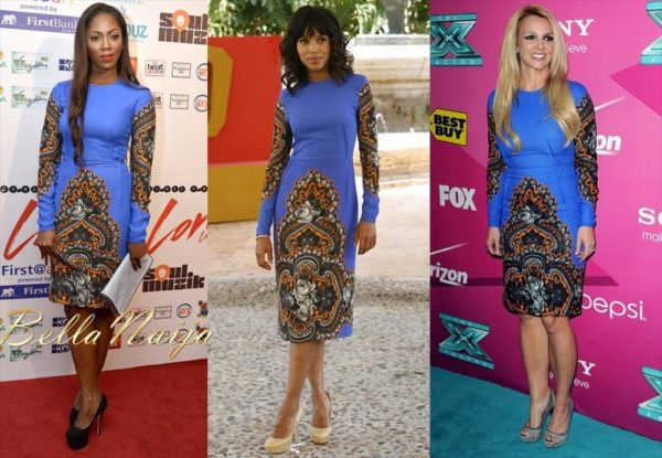BN Exclusive - Tiwa Savage, Kerry Washington & Britney Spears in Stella McCartney