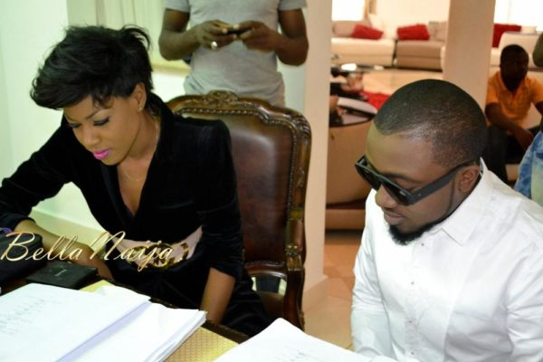 BN Exclusive_ Yvonne Nelson's House of Gold Movie B-T-S - February 2013 - BellaNaija022
