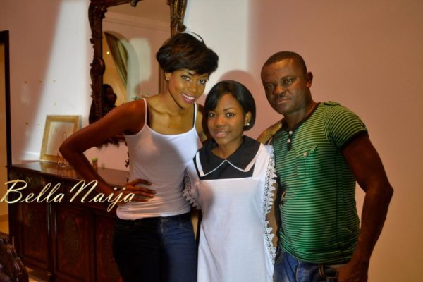 BN Exclusive_ Yvonne Nelson's House of Gold Movie B-T-S - February 2013 - BellaNaija024