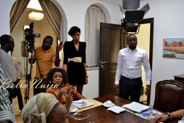 BN Exclusive_ Yvonne Nelson's House of Gold Movie B-T-S - February 2013 - BellaNaija026