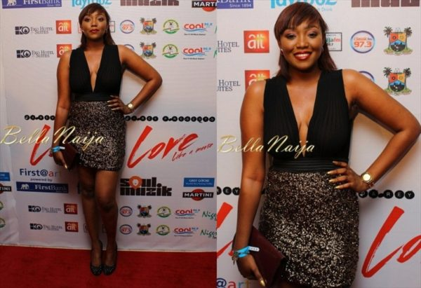 BN Red Carpet Fab - Darey Art-Alade's Love Like A Movie Concert - BellaNaija