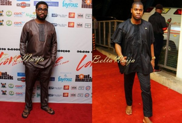 BN Red Carpet Fab - Trad Style Stars - Darey Art-Alade's Love Like A Movie Concert