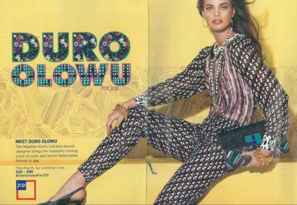 Duro Olowu Ad Campaign JC Penney Oluchi - February 2013 - BellaNaija003