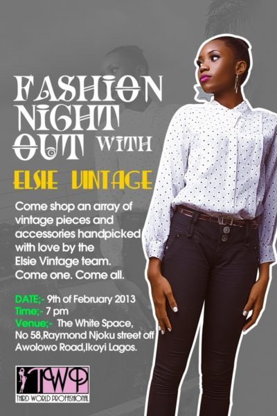 Fashion Night Out with Elsie Vintage
