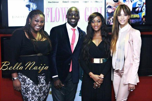 Chris Attoh, Damilola Adegbite & Eku Edewor