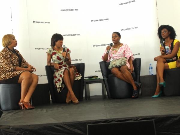 Latasha, Ezinne Chinkata, Isoke Ogiemwomyi and Nana Serwa Kankam