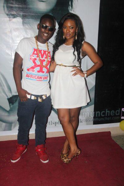 Hadiza with Dammy Krane