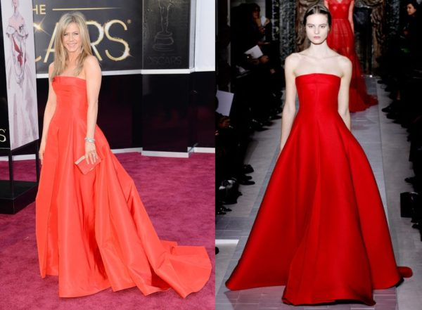 Jennifer Aniston in Valentino Couture
