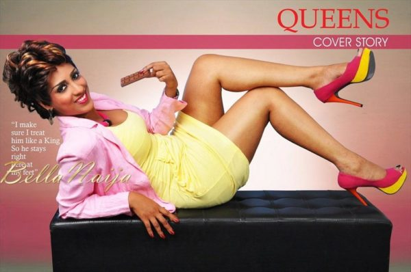 Juliet Ibrahim Queens Magazine - February 2013 - BellaNaija002