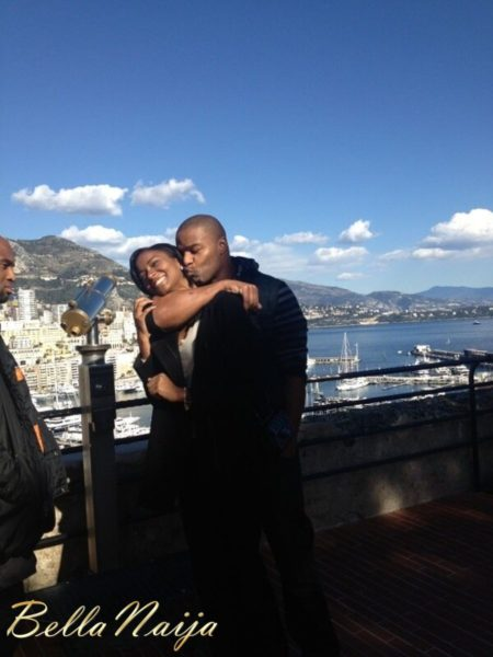 Miss Universe 2011 Leila Lopes & NFL Star Osi Umenyiora are ENGAGED - February 2013 - BellaNaija002