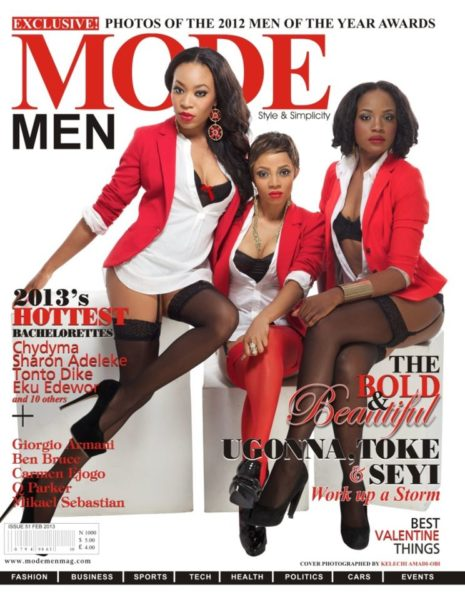 Mode Men Feb 2013 Issue Toke Ugonna Seyi Shay