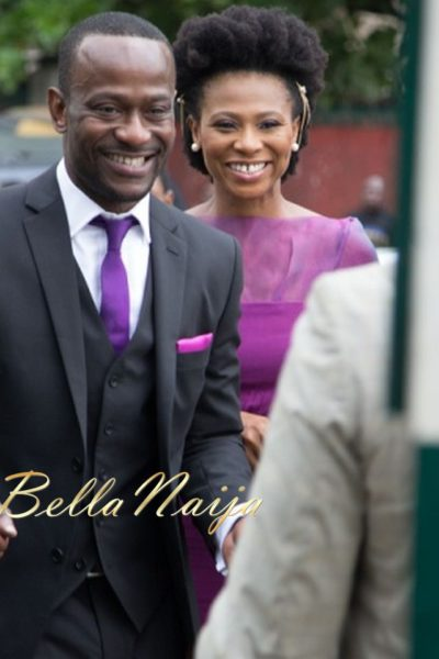 Nse Ikpe-Etim & Clifford Sule at their Civil Ceremony