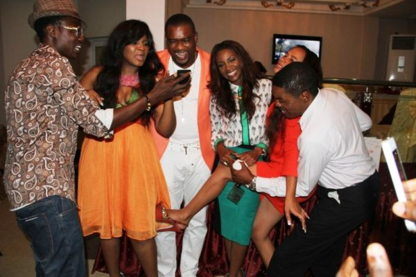 Omotola Jalade-Ekeinde's Surprise 35th Birthday Party - BellaNaija24