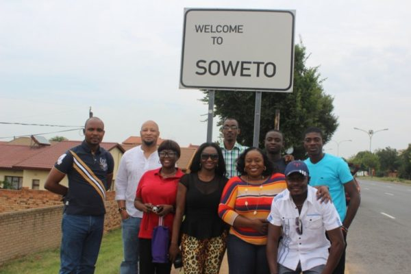 The visit to Soweto
