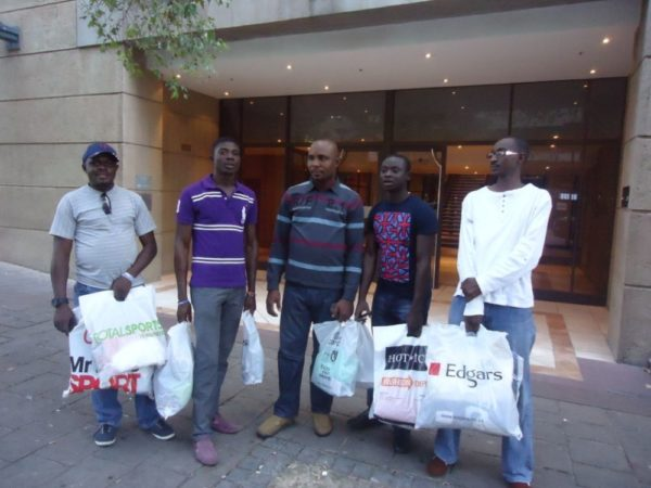 Etisalat Customers at their shopping spree