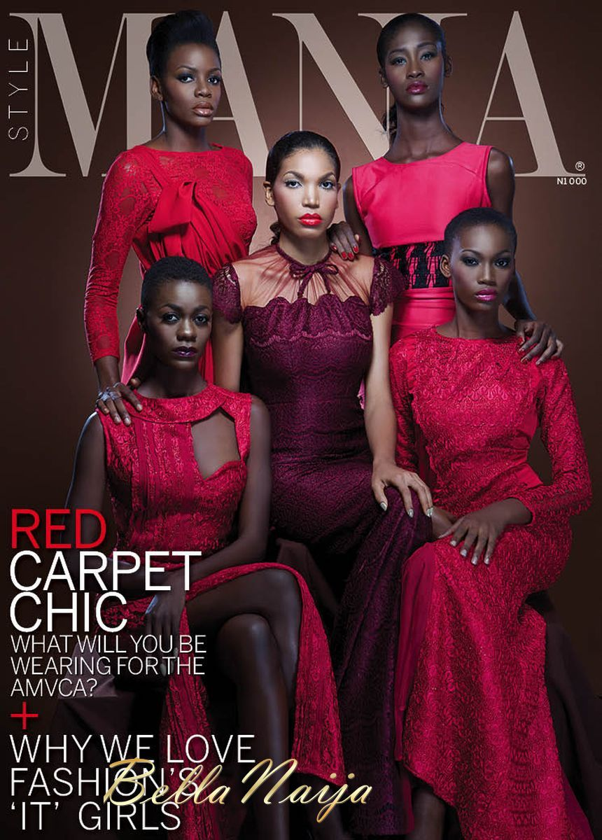 The Models Stylemania Magazine Celebrates 5 Top Nigerian Models In Its Valentine 2013 Issue