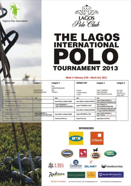 The Lagos Tournament Polo 2013