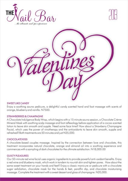 The Nail Bar Valentines Day Special - BellaNaija