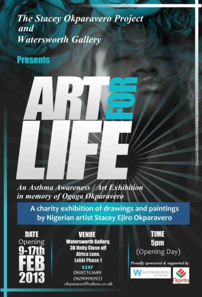The Stacey Okparavero Project & Watersworth Gallery presents Art For Life - BellaNaija