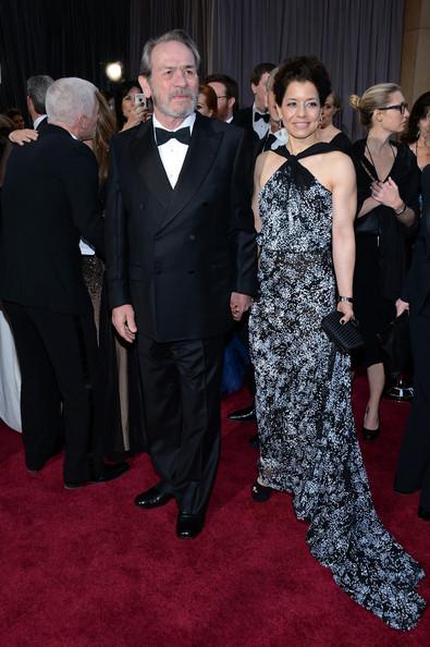 Tommy Lee Jones & Wife, Dawn Laurel-Jones