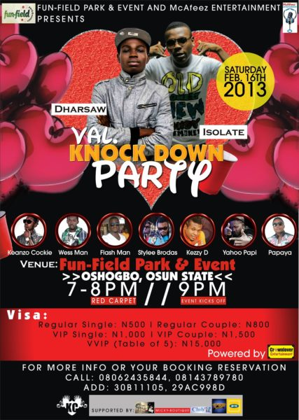 VAL Knock Down Party