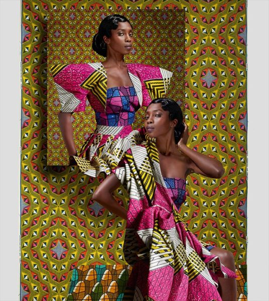Vlisco's Jeu De Couleurs Collection Ad Campaign - February 2013 - BellaNaija003